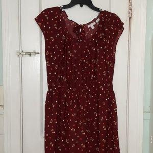 Lauren Conrad Cherry Dress